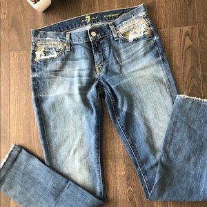 Woman's 7 For All Mankind Tribal Jeans